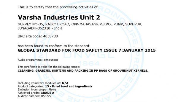 Varsh Industries pvt ltd|Varsha Agro Industries |Agro product exporter